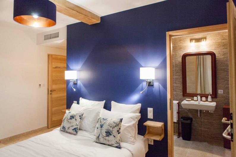 Location de vacances - Gîte à Saint-Antonin-Noble-Val - Chambre perruche de plain-pied