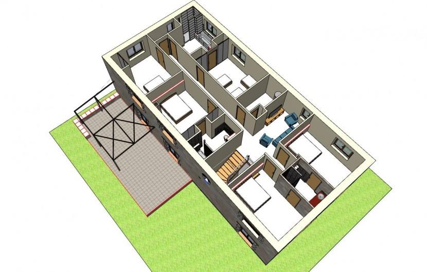 Location de vacances - Gîte à Saint-Antonin-Noble-Val - 1er étage