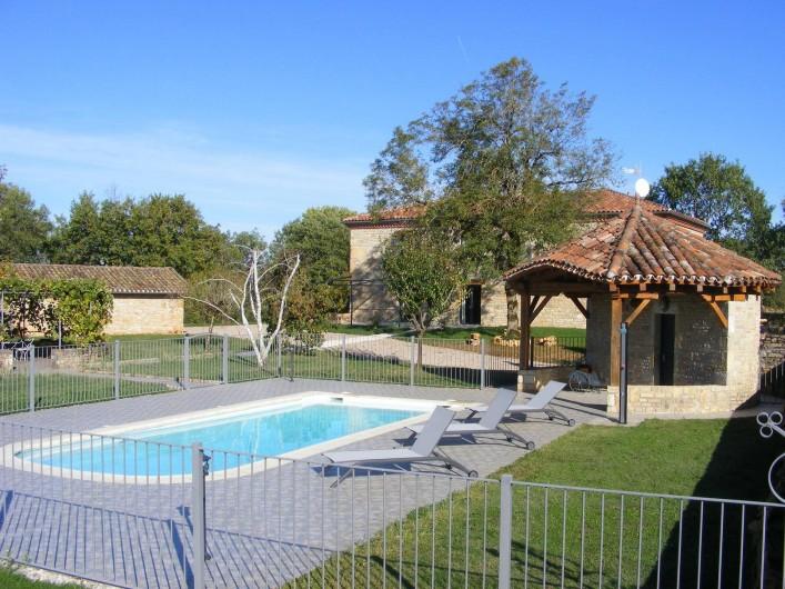 Location de vacances - Gîte à Saint-Antonin-Noble-Val - Détente et fraicheur