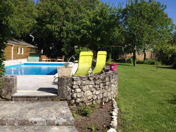 Location de vacances - Chambre d'hôtes à Messas - Piscine, jardin.