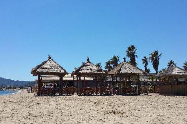 Location de vacances - Bungalow - Mobilhome à Grimaud - Restaurant Snack Les Pieds dans l'Eau