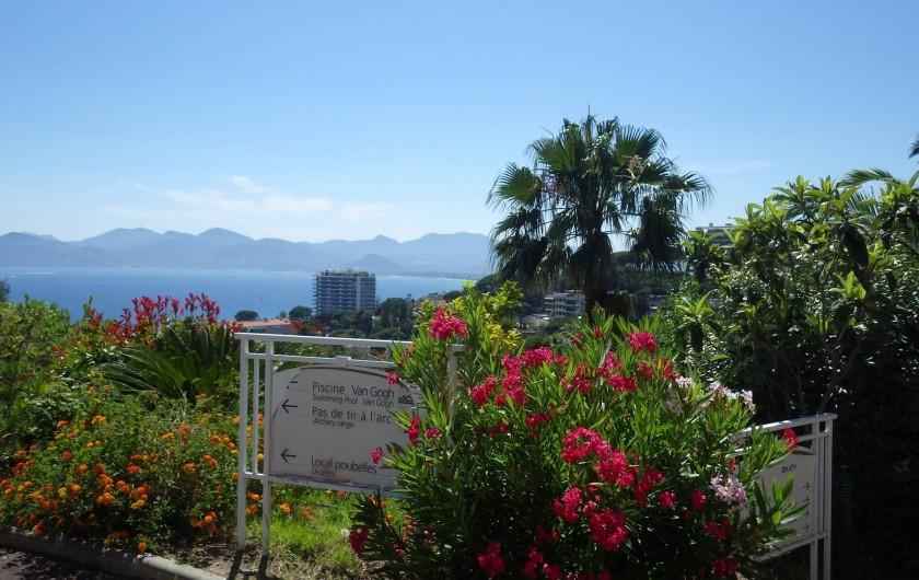 Location de vacances - Appartement à Cannes - vue de la résidence