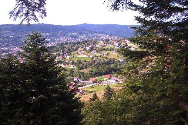 Location de vacances - Chalet à Gérardmer - vue touristique