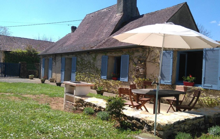 Location de vacances - Gîte à Le Bugue - La Centaurée terrasse