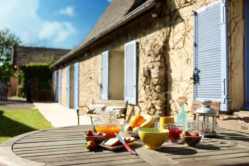 Location de vacances - Gîte à Le Bugue - La Centaurée