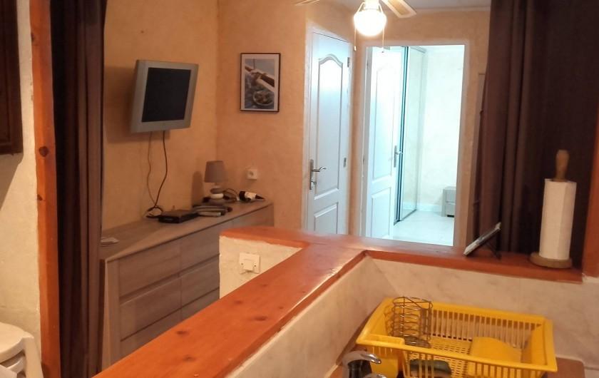 Location de vacances - Appartement à Flayosc - coin salon