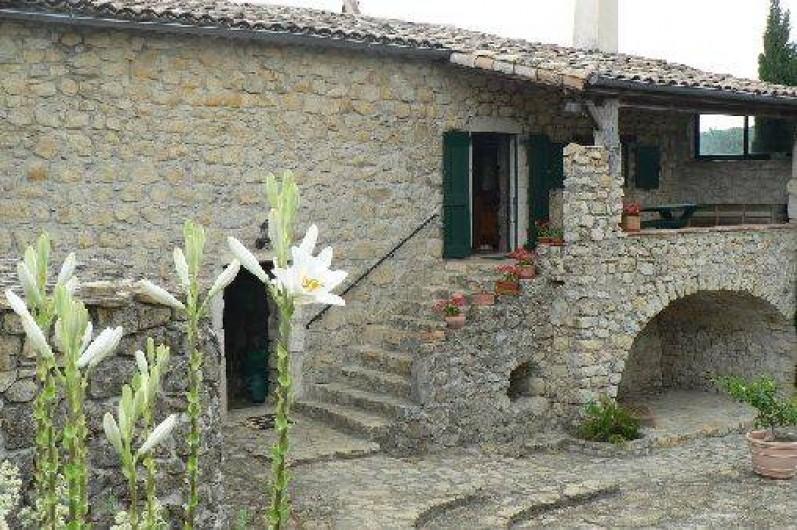Location de vacances - Gîte à Saint-Maurice-d'Ibie - Maison principale
