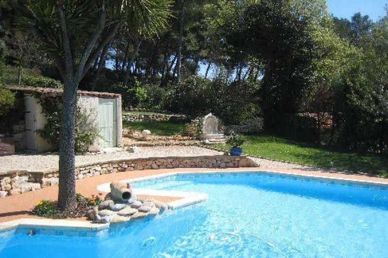 Location de vacances - Appartement à Aix-en-Provence - Coin piscine