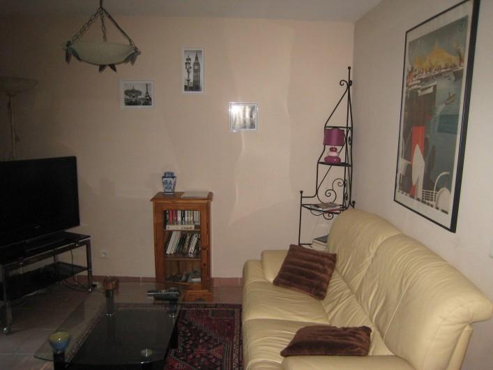 Location de vacances - Appartement à Aix-en-Provence - Salon