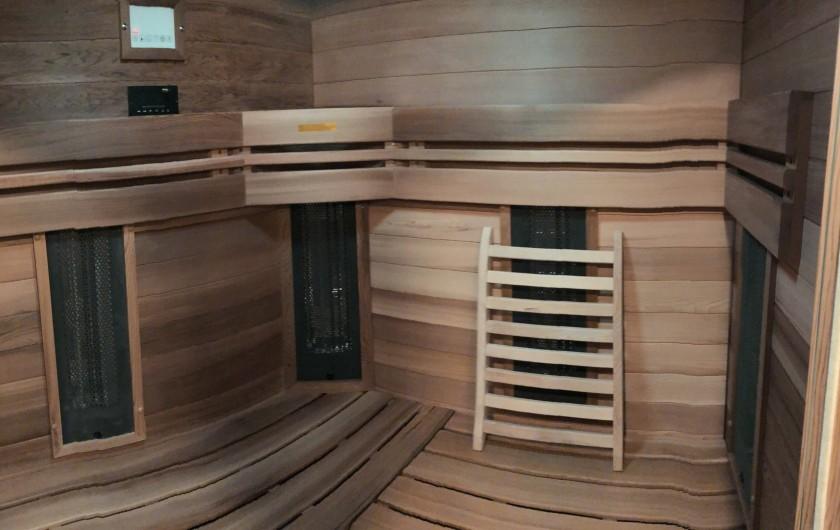 Location de vacances - Chalet à Chamonix-Mont-Blanc - Le Sauna 3/4 Personnes