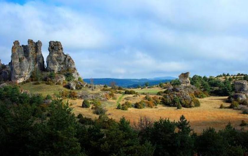 Location de vacances - Gîte à Castanet-le-Haut - Castanet-le-Haut