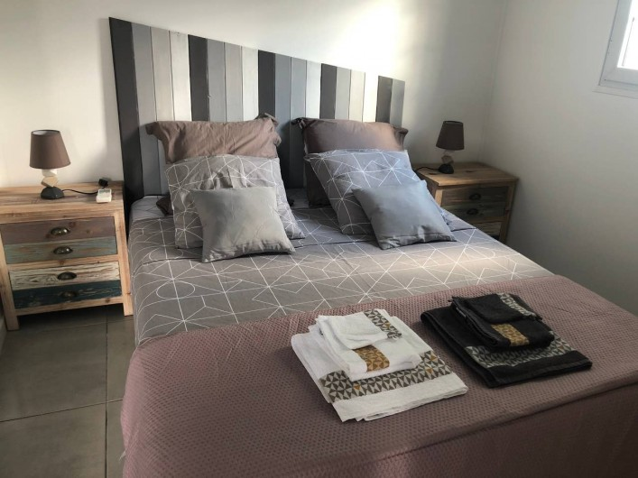 Location de vacances - Villa à Bouillante - CHAMBRE