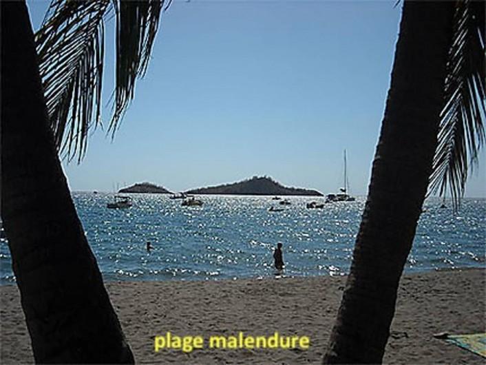 Location de vacances - Villa à Bouillante - PLAGE DE MALENDURE 5 MN A PIED