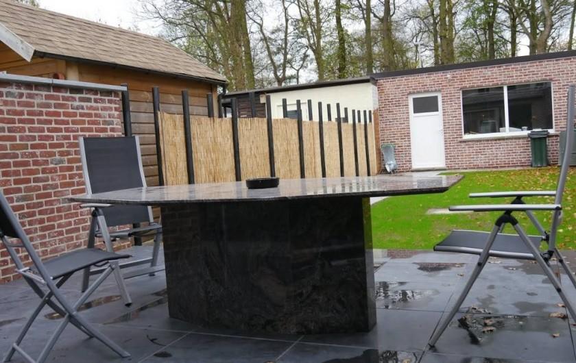 Location de vacances - Maison - Villa à Oudenaarde - garden with seats and table