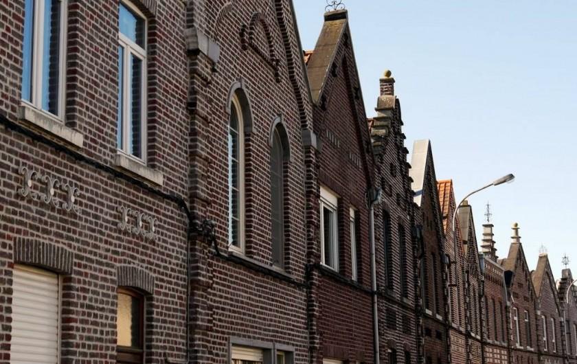 Location de vacances - Maison - Villa à Oudenaarde - front of the historic houses