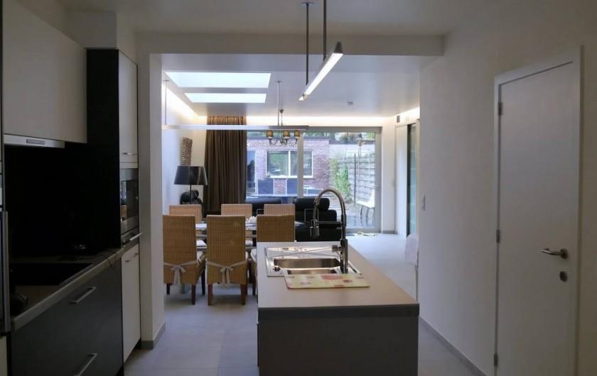Location de vacances - Maison - Villa à Oudenaarde - kitchen and living room