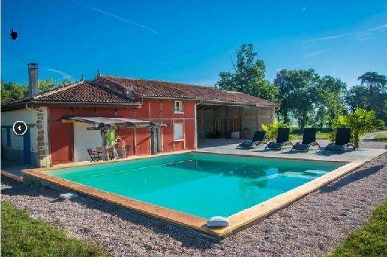 Location de vacances - Villa à Berdoues - vue d'ensemble