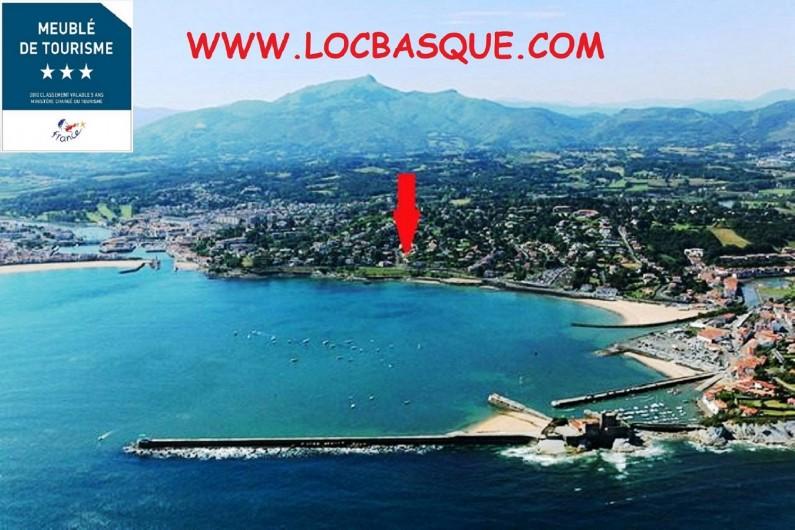 Location de vacances - Villa à Ciboure - photo aerienne