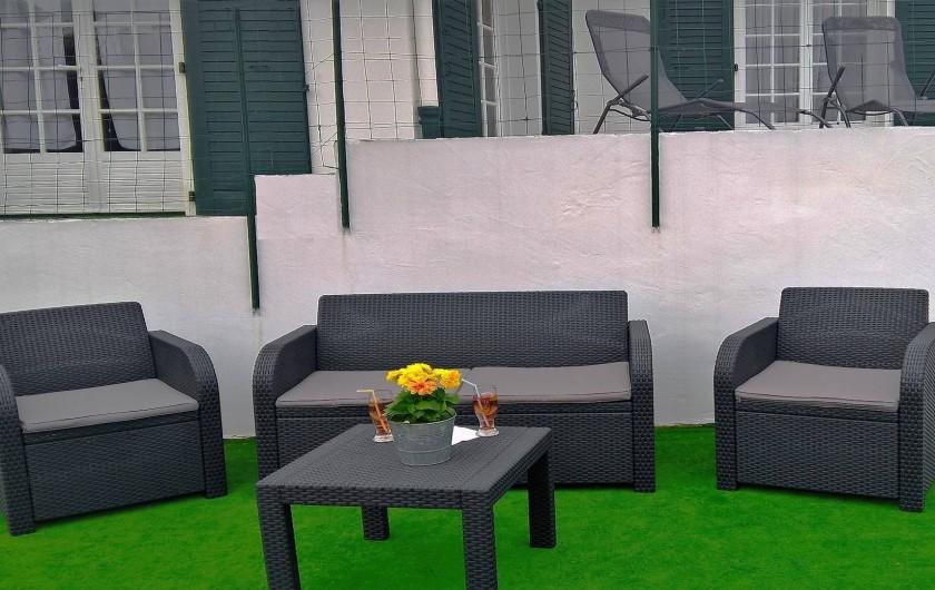 Location de vacances - Villa à Ciboure - espace exterieur