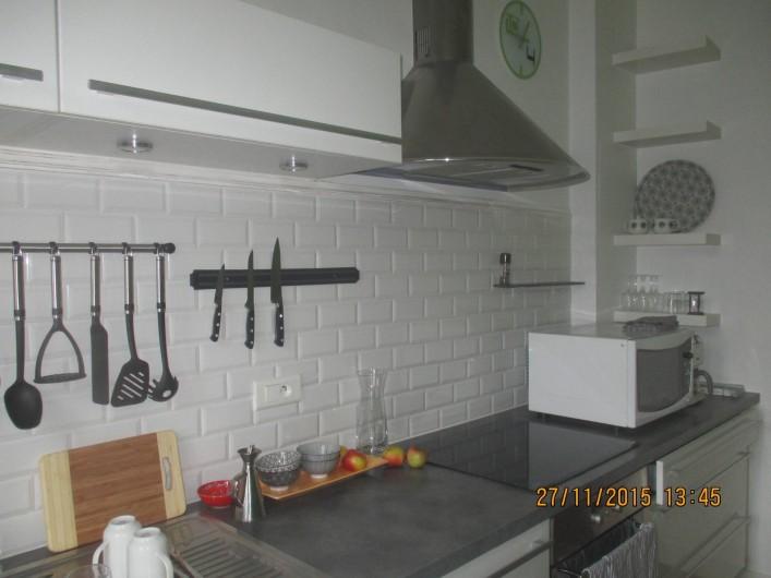 Location de vacances - Appartement à Quimper - Cuisine agréable, équipée