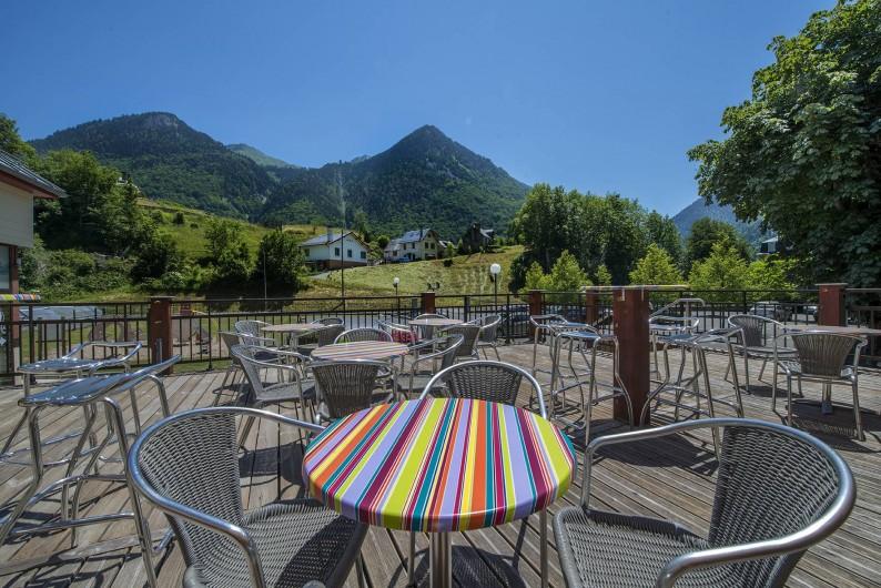 Location de vacances - Hôtel - Auberge à Cauterets - Terrasse