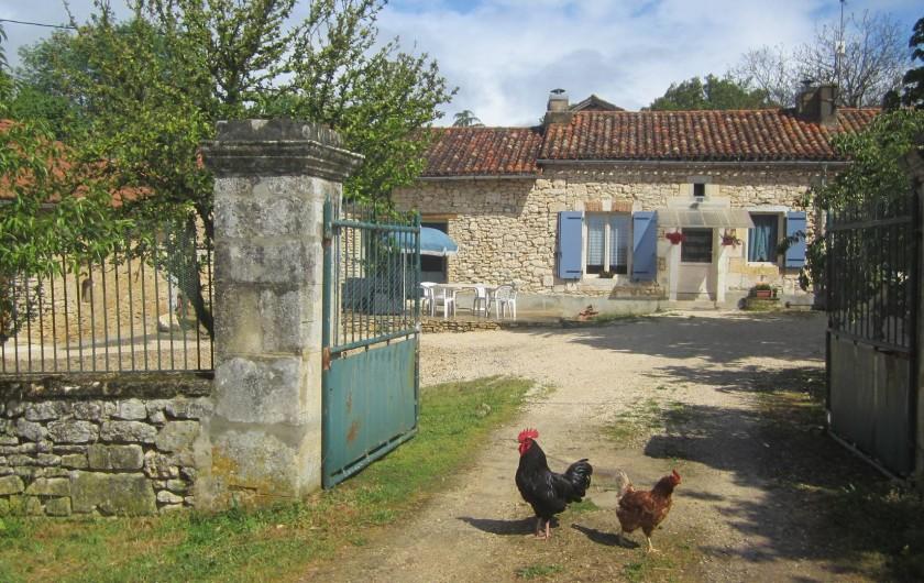 Location de vacances - Gîte à Sorges et Ligueux en Périgord - Notre ferme