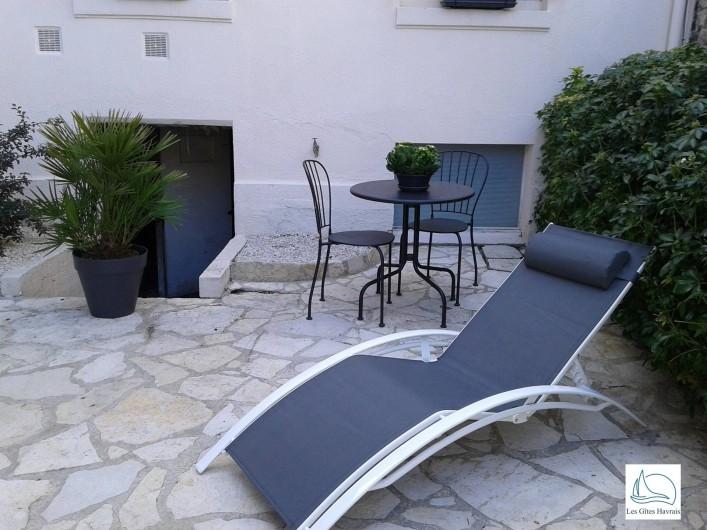 Location de vacances - Appartement à Le Havre - Salon de jardin