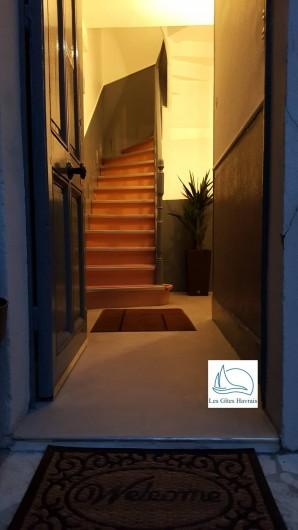 Location de vacances - Appartement à Le Havre - Hall d'entrée