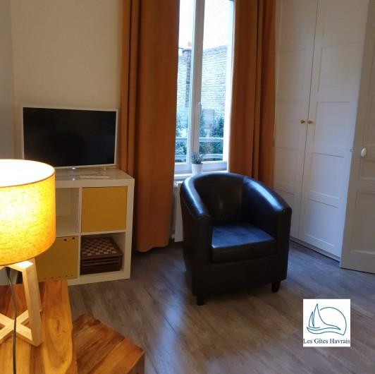 Location de vacances - Appartement à Le Havre - Coin salon
