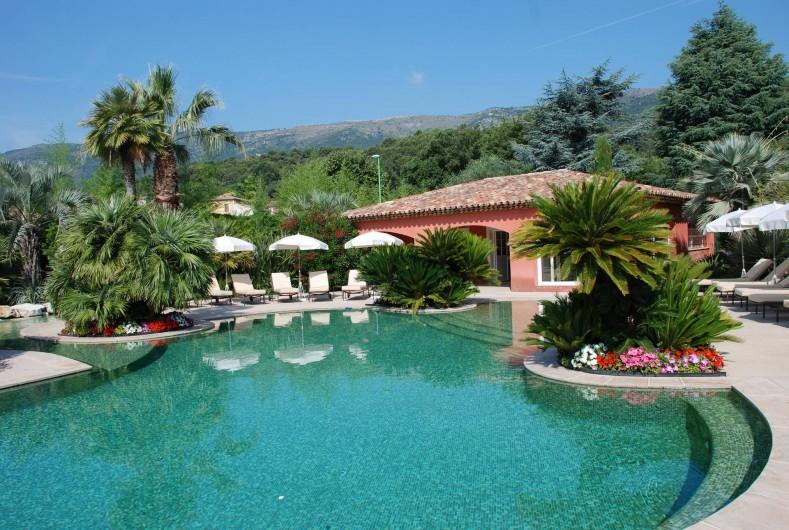 Location de vacances - Villa à Carros - Magnifique piscine-lagon