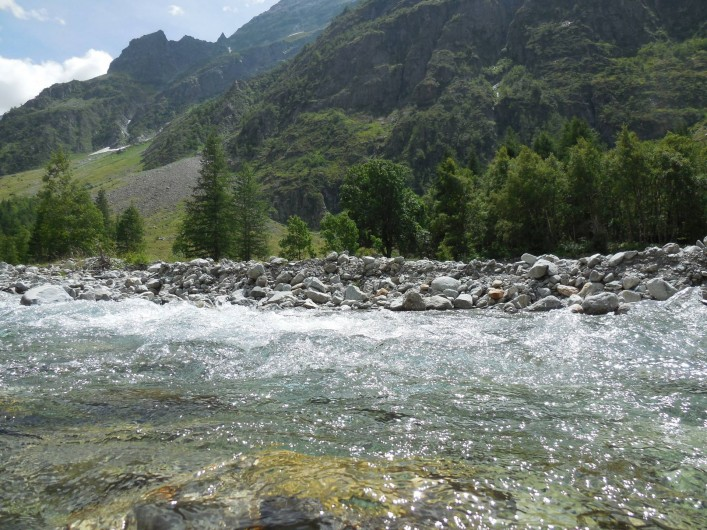 Location de vacances - Chalet à La Bâtie-Vieille - La vallée de Champoléon