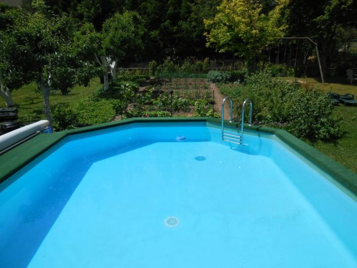 Location de vacances - Chalet à La Bâtie-Vieille - La piscine