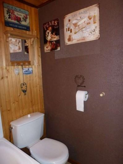 Location de vacances - Chalet à Bussang - WC