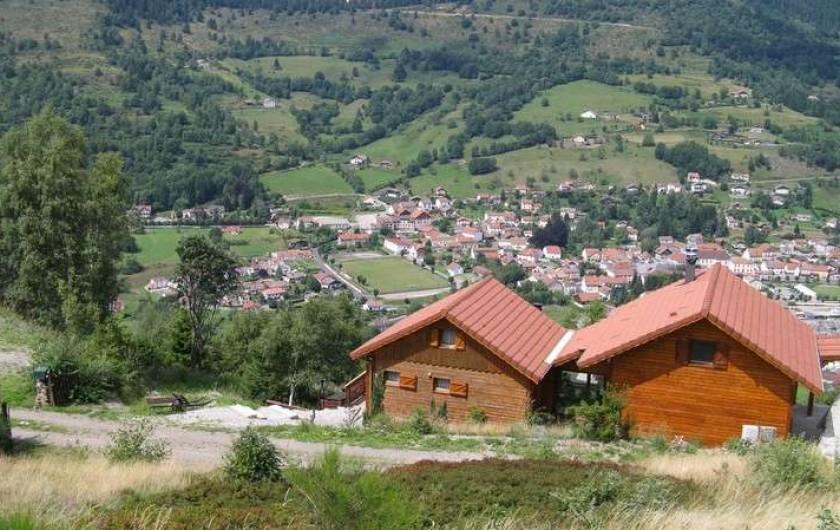 Location de vacances - Chalet à Bussang - Vue du chalet