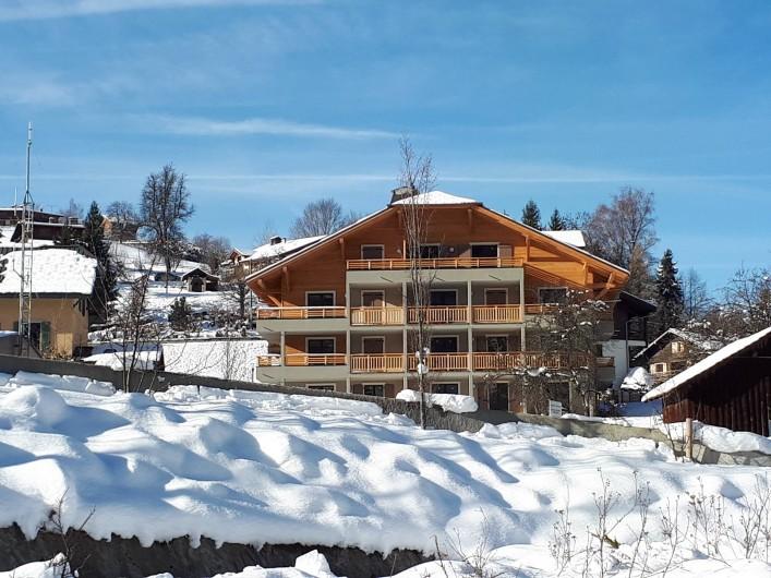 Location de vacances - Appartement à Saint-Gervais-les-Bains - L'eau des Cimes