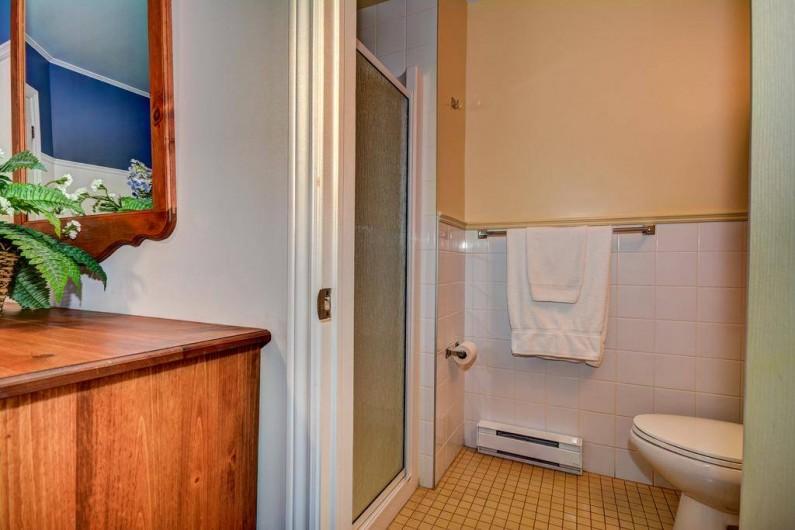 Location de vacances - Appartement à Saint-Donat - Salle de bain chambre des maîtres