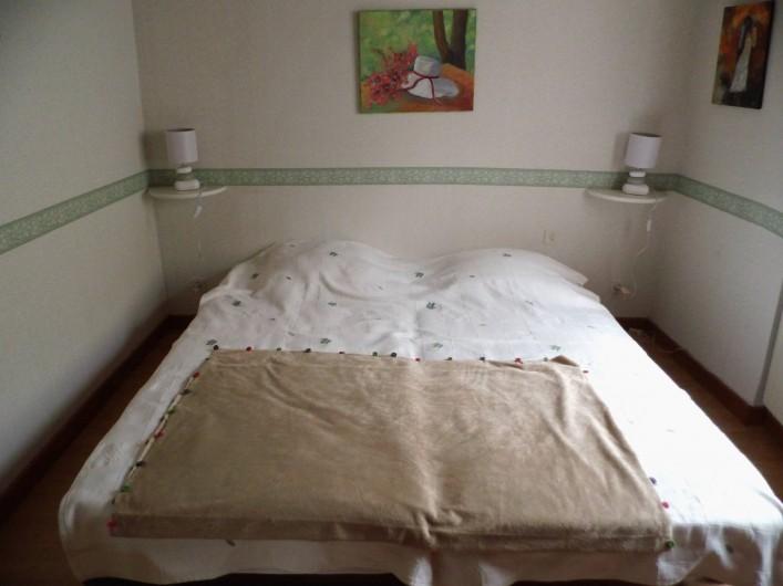 Location de vacances - Gîte à Cerdon - chambre n 1 2 lit de 0 m 90
