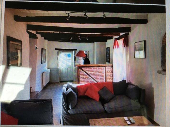 Location de vacances - Maison - Villa à Calvignac - Salon TV 1er étage