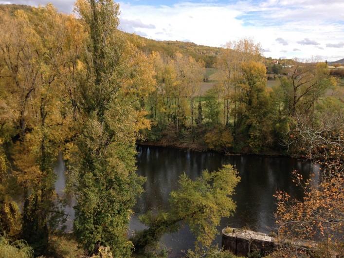 Location de vacances - Maison - Villa à Calvignac - Vue de la terrasse