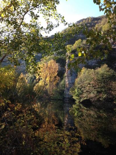 Location de vacances - Maison - Villa à Calvignac - La vue de la terrasse