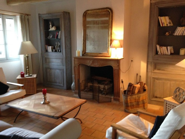 Location de vacances - Maison - Villa à Calvignac - Le salon du RDC