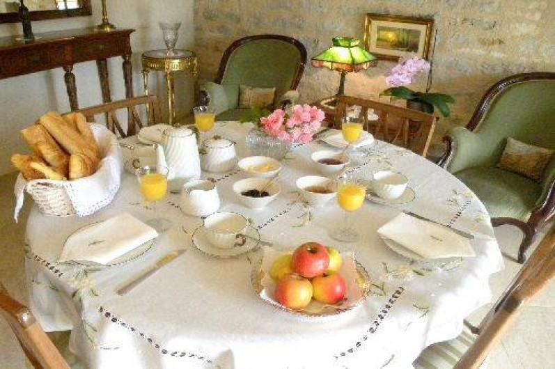 Location de vacances - Maison - Villa à Buffon - Petit déjeuner