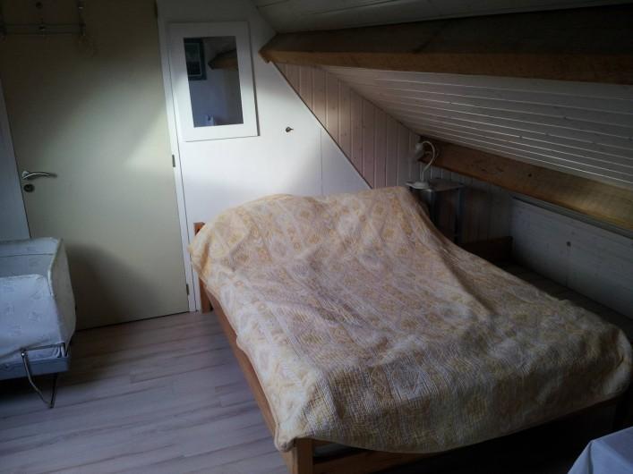 Location de vacances - Villa à Sarzeau - chambre bella vista 3° niveau