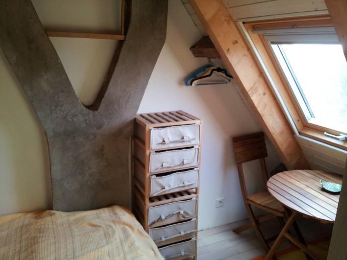 Location de vacances - Villa à Sarzeau - chambre cabine 3°niveau