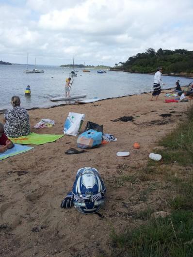Location de vacances - Villa à Sarzeau - la plage à 100 m par chemin privatif