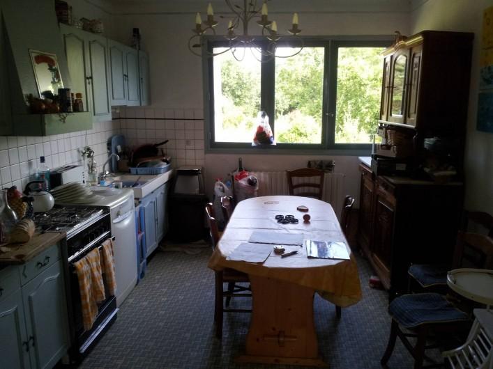 Location de vacances - Villa à Sarzeau - la cuisine 1°niveau