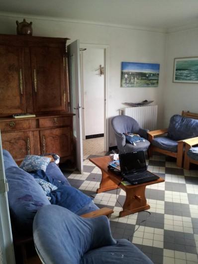 Location de vacances - Villa à Sarzeau - l'autre extrémité du salon /salle à manger