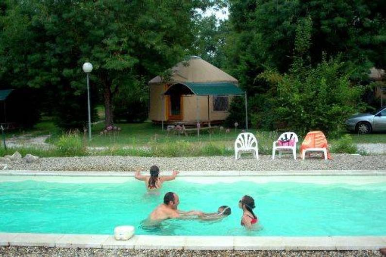 Location de vacances - Yourte à Lauzerte