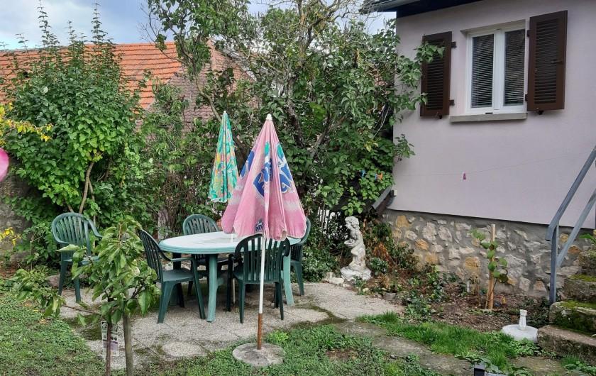 Location de vacances - Gîte à Ingersheim - Salon de jardin
