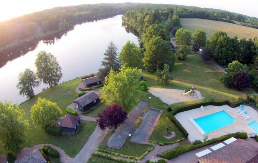 Location de vacances - Chalet à Miallet - Vue d'ensemble du site